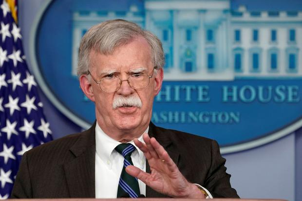 TRUMP'S VOICE: John Bolton. Photo: Reuters