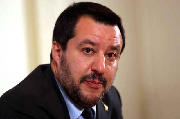 Nationalist vow: Italy's Deputy Prime Minister Matteo Salvini. Photo: Reuters