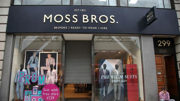 Moss Bros was forced to cut prices in the last 10 weeks to drive sales (Yui Mok/PA)