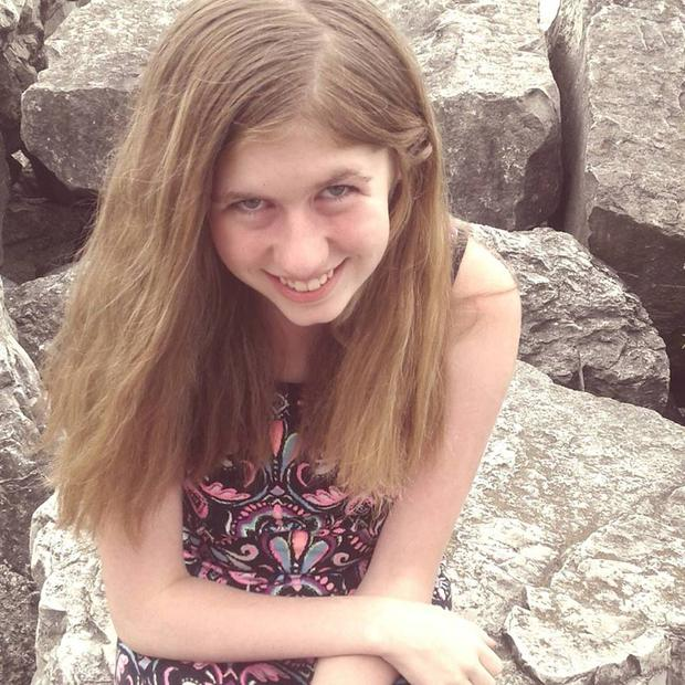 Prayers answered: Jayme Closs was found on Thursday afternoon after being held by 'a guy in the woods'. Photo: AP