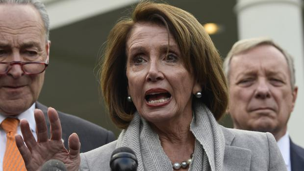 House Speaker Nancy Pelosi has asked President Donald Trump to postpone the State of the Union address (Susan Walsh/AP)