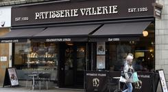 Patisserie yesterday unveiled the