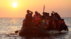 Some 117 migrants who left Libya in a rubber dinghy two days ago are unaccounted for, the International Organisation for Migration (IOM) said yesterday. (stock picture)