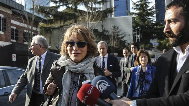 United Nations Special Rapporteur Agnes Callamard, (Cemal Yurttas/AP)