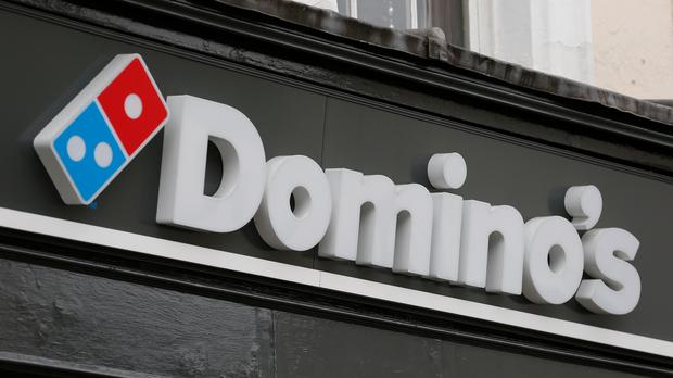 Domino's had its busiest week ever in the run-up to Christmas with the UK and Ireland business. Photo: PA
