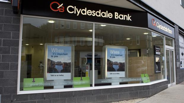 Clydesdale Bank and Yorkshire Bank owner CYBG has seen an investor backlash over bonuses for top bosses after more than a third of shareholders voted against its executive pay plans (Clydesdale Bank)