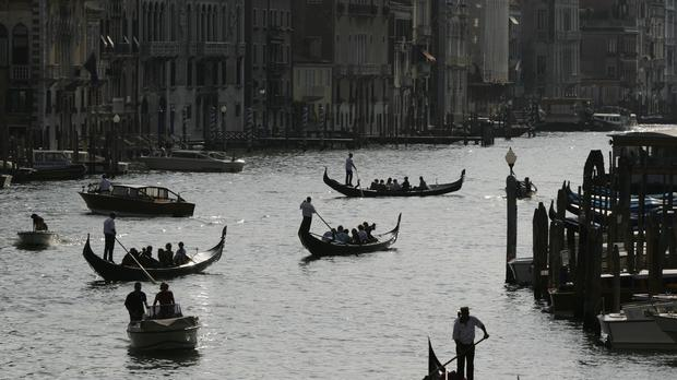 Plans to charge tourists €3 were announced by Luigi Brugnaro, the mayor of Venice. Photo: PA
