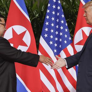 US president Donald Trump and North Korea leader Kim Jong Un will meet in Vietnam later this month (AP Photo/Evan Vucci, File)
