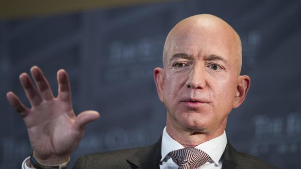 Amazon founder Jeff Bezos is at the centre of controversy over his private life (AP)
