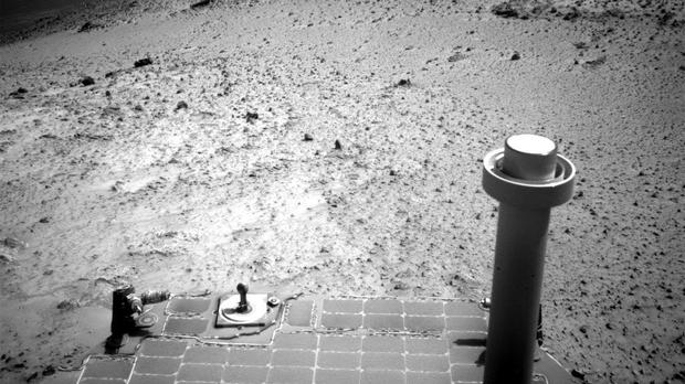 Image sent by NASA Opportunity rover in 2015 (Nasa / AP)