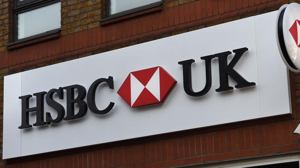 Shares in HSBC closed down (PA)