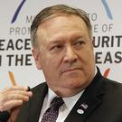 Secretary of State Mike Pompeo said the woman will not be allowed to return to the US (Czarek Sokolowski/AP)
