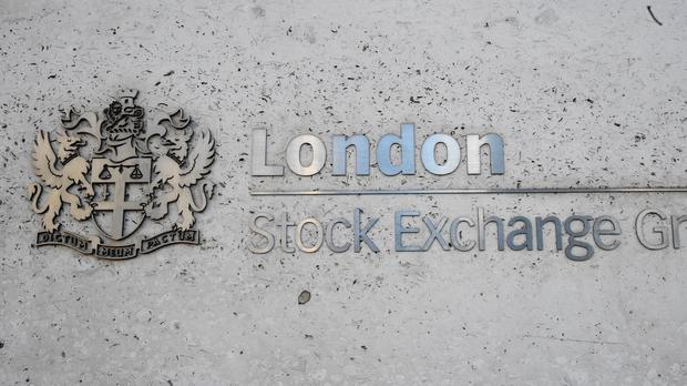 Shares were up on Friday (PA)