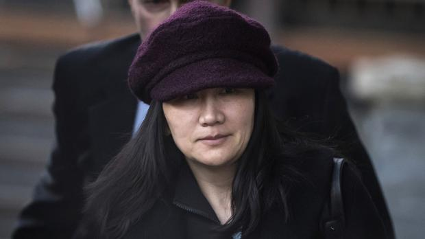 Huawei chief financial officer Meng Wanzhou is suing Canadian authorities over her arrest (Darryl Dyck/The Canadian Press via AP, File)