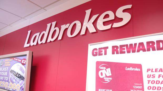 Ladbrokes reported full-year results on Tuesday (PA)