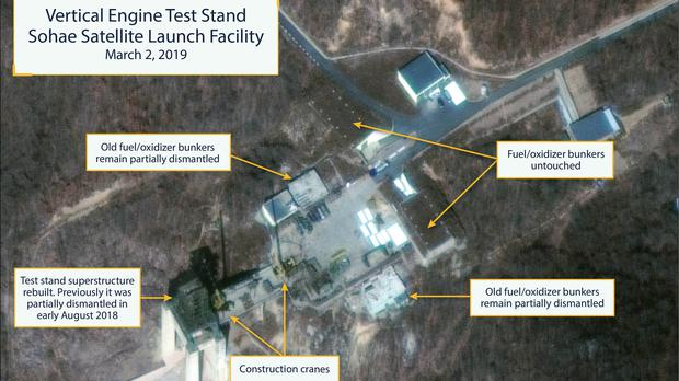 Satellite images purport to show rebuilding efforts are under way (CSIS/Beyond Parallel)