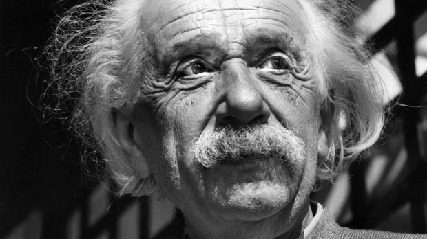 A collection of Einstein manuscripts are in the possession of Israel's Hebrew University (AP Photo, File)