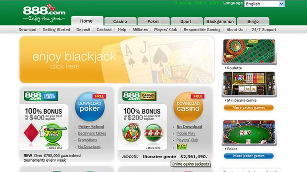 888 Holdings' UK revenue was hit by tighter gambling regulation (PA.
