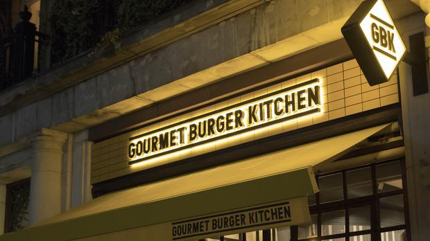 Gourmet Burger Kitchen closed 17 sites as part of a CVA (Rick Findler/PA)