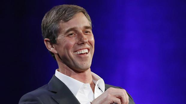 Beto O'Rourke confirmed the news to a Texas TV station (Kathy Willens/AP)