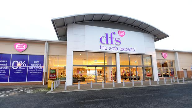 DFS has laid out the potential impacts Brexit could have on the business (Denis Kennedy/DFS Furniture/PA)