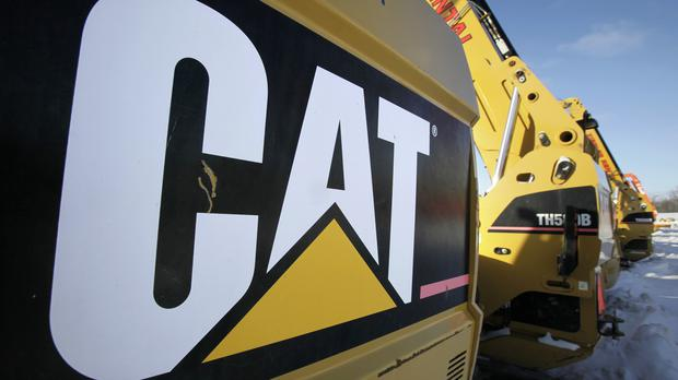 Caterpillar, a key component of the Dow, has said tariffs cost the company $100m last year. (stock photo: PA)