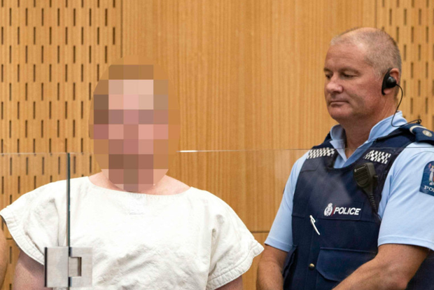 In court: Brenton Tarrant, the man charged in relation to the attack. Photo: Getty