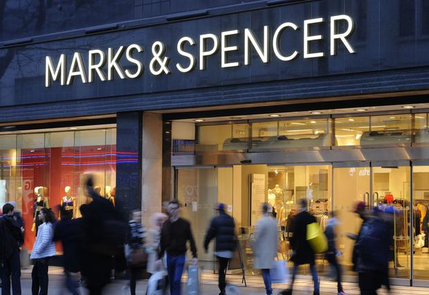 M&S has announced plans to cut jobs at seven Irish stores. (PA)
