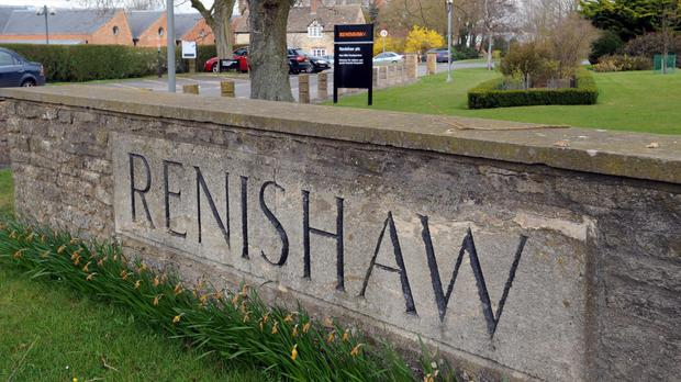 Entrance to Renishaw in Wotton-under-Edge in Gloucestershire. (PA)