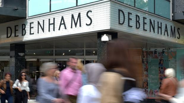 Mr Ashley owns just under 30% of Debenhams through Sports Direct (PA)