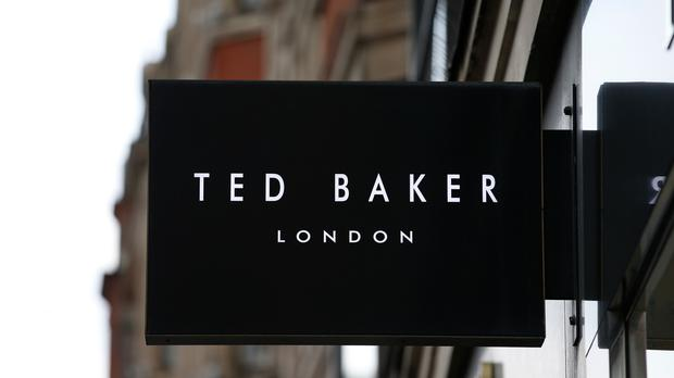 Ted Baker reported its first drop in annual profit since the 2008 financial crisis, highlighting tough conditions on Britain's high streets, as the fashion retailer faces life without its founder. (Jonathan Brady/PA)