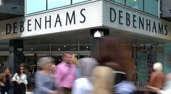 Debenhams is to pursue a restructuring plan which could wipe out shareholders (Nick Ansell/PA)