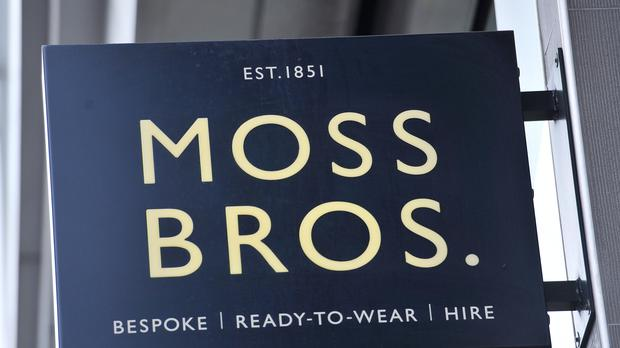 Moss Bros is in a spot of bother (PA)