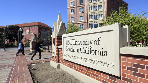 The University of Southern California in Los Angeles (Reed Saxon/AP)