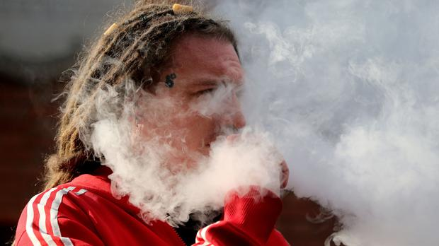 Vaping is on the increase (Gareth Fuller/PA)
