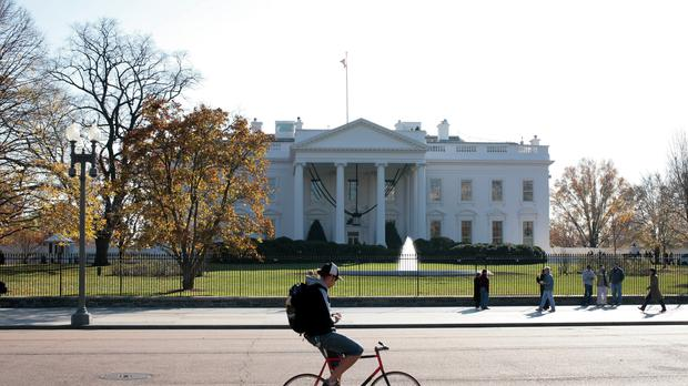 The White House, Washington DC (Andrew Parsons/PA)