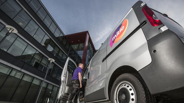 "Outsourcing giant Mitie has cheered ""steady progress"" in its revamp plan, with annual earnings set to rise despite a sharp drop in its order book."