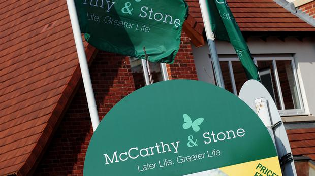 Profits are down at McCarthy and Stone (PA)