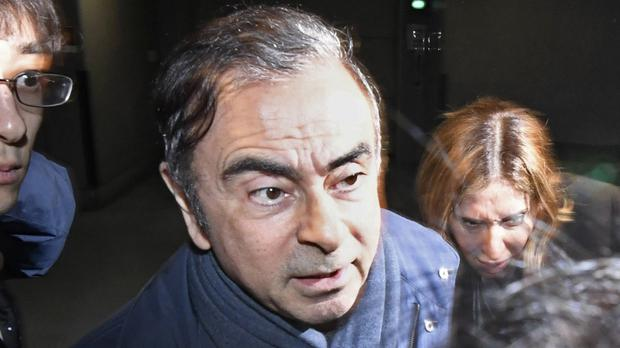 Carlos Ghosn led Japanese carmaker Nissan for two decades (Sadayuki Goto/Kyodo News via AP)