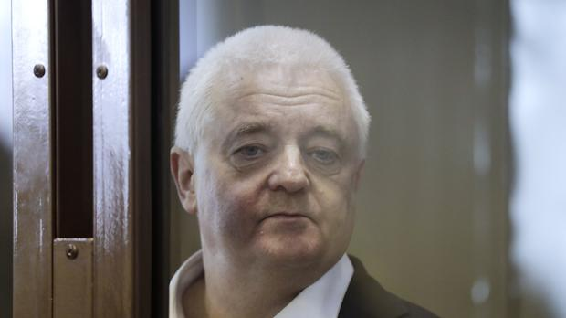 Frode Berg is accused of spying on Russia (AP Photo/Pavel Golovkin)