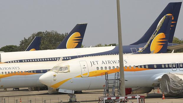 Jet Airways was once India's largest airline (Rafiq Maqbool/AP)