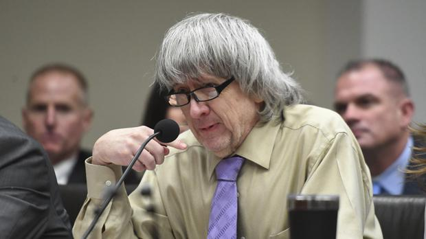 David Turpin reads a statement in court (Will Lester/AP)