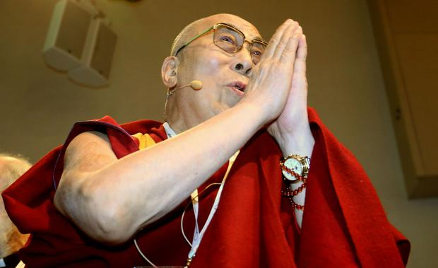 Dalai Lama back home after treatment in hospital for chest