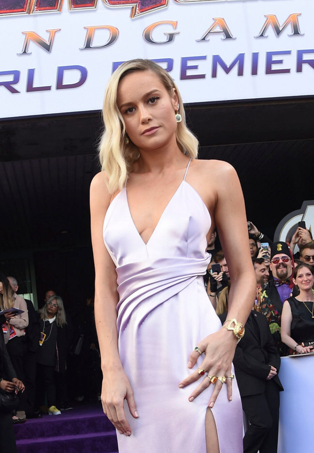 Brie Larson is one of the many stars in 'Endgame'