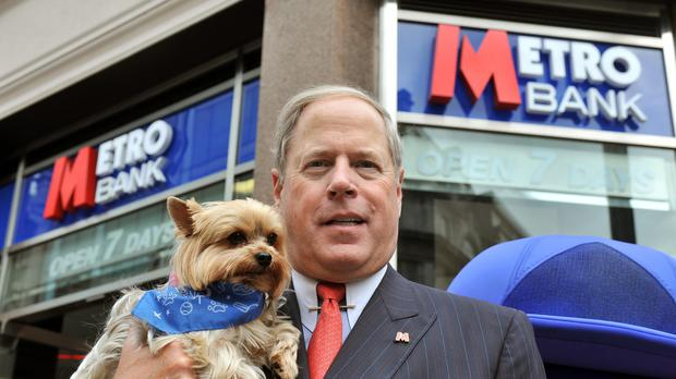 Vernon Hill is Metro Bank's chairman (John Stillwell/PA)