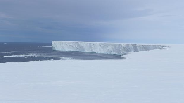The Ross Ice Shelf in Antarctica. Scientists found that part of the ice shelf is melting much faster than expected (Poul Christoffersen/PA)