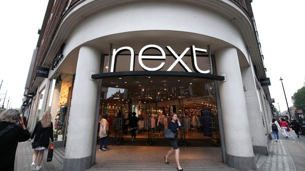 A branch of Next on Oxford Street, central London (PA)