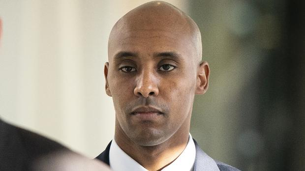 Mohamed Noor was convicted of third-degree murder (AP)