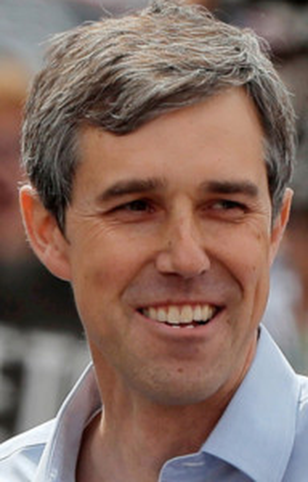 Beto O'Rourke: Poll puts Texan 10 percentage points ahead of Trump. Photo: Reuters