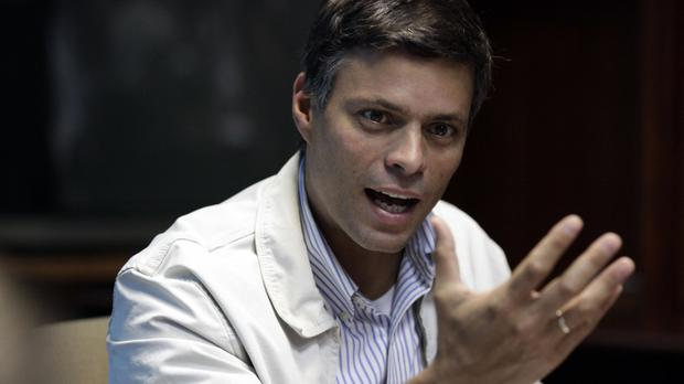 Venezuelan opposition leader Leopoldo López. Photo: PA